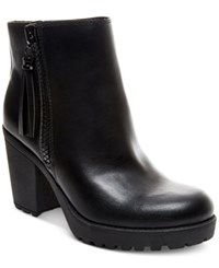 Madden Girl Madden Girl Como Platform Ankle Booties Women's Shoes Black
