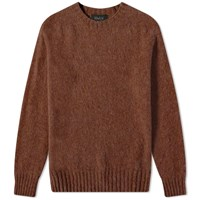 Howlin' Birth Of The Cool Crew Knit Brown