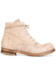 The Last Conspiracy Long Hair Ankle Boots Nude Neutrals