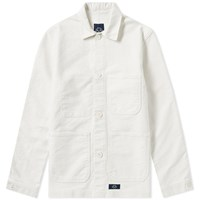 Bleu De Paname Counter Jacket White