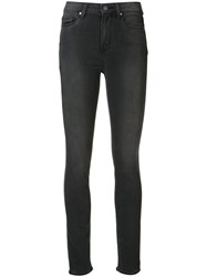 Paige 'Hoxton' High Rise Skinny Jeans Grey