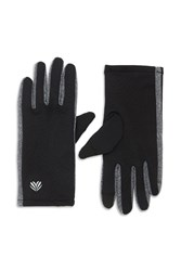 Forever 21 Active Fleece Texting Gloves Black Charcoal