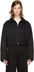 Christophe Lemaire Black Wool Jacket