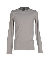 Laneus Topwear Sweatshirts Men Light Grey