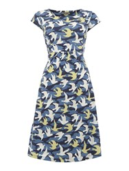 Lily And Me Printed Tide Dress Lime