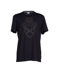Gianfranco Ferre Gf Ferre' T Shirts Dark Blue