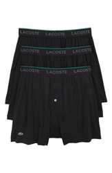 Lacoste 3 Pack Knit Boxers