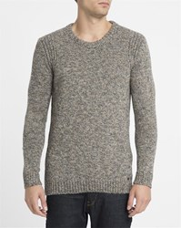 Minimum Beige Athan Round Neck Sweater Blue