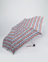 Cath Kidston Minilite Umbrella In Guards Print Guards Multi