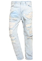 Scotch And Soda Dean Holy Moly Straight Leg Jeans Denim Blue Light Blue