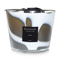 Baobab Stones Agate Scented Candle Limited Edition Brown