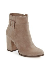424 Fifth Layna Suede Ankle Boots Taupe