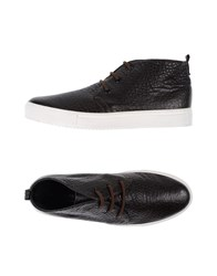 Collection Priv E Footwear High Tops And Trainers Men Dark Brown