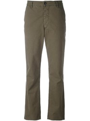 Masscob Cropped Trousers Green
