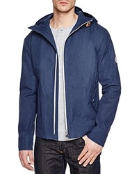 Gloverall Hooded Parka Jacket Navy