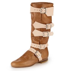 Vivienne Westwood Pirate Boot Tan Yellow