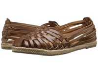 Seychelles Nifty Tan Leather Women's Flat Shoes