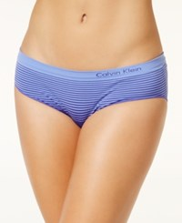 Calvin Klein Illusions Seamless Boyshort Qd3549 Stimulate Tranquil Blue