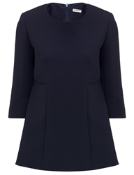 Charles Anastase Navy Stripe Panel Chartres Top