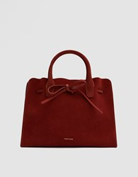 Mansur Gavriel Sun Bag In Brick