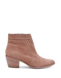 Matisse Cece Nubuck Leather Booties Tan