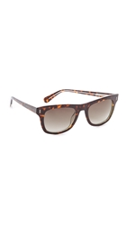 Marc By Marc Jacobs Square Sunglasses Havana Brown Gradient