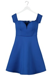 Glamorous Cocktail Dress Party Dress Blue
