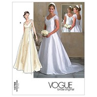 Vogue Women's Bridal Gown Sewing Pattern 2788