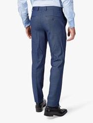 Chester Barrie By Birdseye Slim Fit Suit Trousers Blue