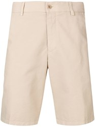 Loro Piana Classic Chino Shorts Neutrals