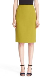 Lafayette 148 New York Women's Pencil Skirt With Back Vent