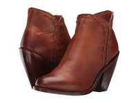 Dan Post Marlena Cognac Fashion Round Toe Cowboy Boots Brown