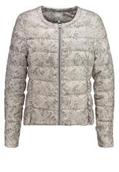 Cream Rosian Down Jacket Drizzle Grey Silver