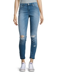 Blank Nyc Light Wash Distressed Skinny Jeans One Life