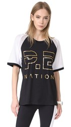 P.E Nation One Time Raglan Tee Black