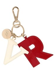 Roger Vivier Rv Patent Leather Key Holder