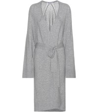 Alexander Wang Wool And Cashmere Cardigan Grey
