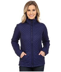 The North Face Insulated Luna Jacket Patriot Blue Women's Coat Navy