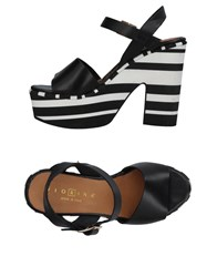 Fiorina Sandals Black