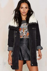 Nasty Gal Somedays Lovin Thrills Denim Parka