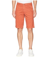 Ag Adriano Goldschmied Griffin Shorts In Sulfur Rosso Red Sulfur Rosso Red Orange