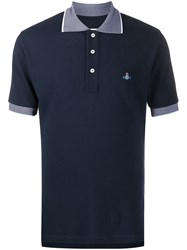 Vivienne Westwood Striped Collar Polo Shirt 60
