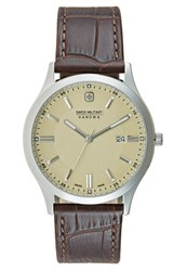 Swiss Military Hanowa Navalus Watch Brown