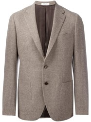Boglioli Patch Pockets Blazer Nude Neutrals