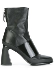 Premiata Zipped Ankle Boots Black