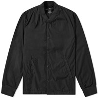 Save Khaki Poplin Bomber Jacket Black