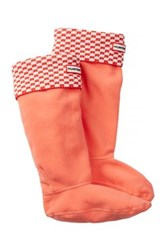 Hunter Original Tall Square Brick Boot Sock Multi