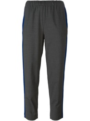 Erika Cavallini Semi Couture 'Henrike' Trousers Grey