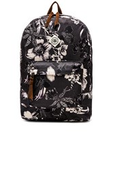 Obey Dark Orchid Backpack Black