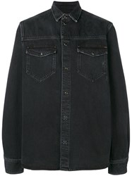 Tom Wood Classic Denim Shirt Black
